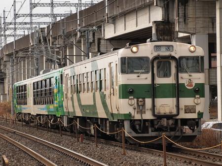 キハ48風っこ返却回送 東北本線西那須野~那須塩原02