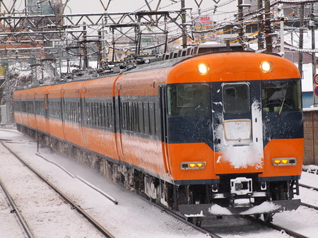 近鉄12200系特急 近鉄名古屋線米野駅