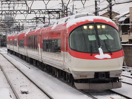 近鉄23000系回送 近鉄名古屋線米野駅