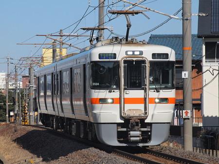 313系快速 関西本線富田~富田浜01