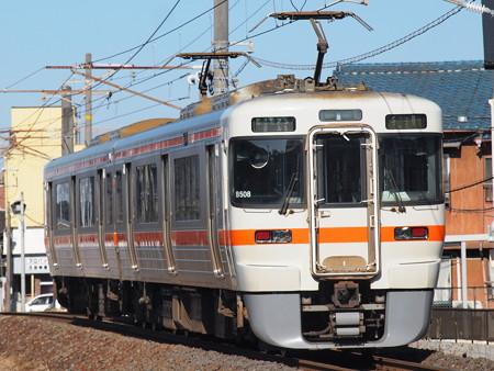 313系普通 関西本線富田~富田浜03
