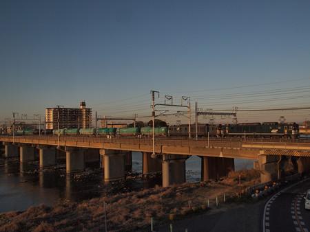 EF64貨物 東海道本線枇杷島~名古屋