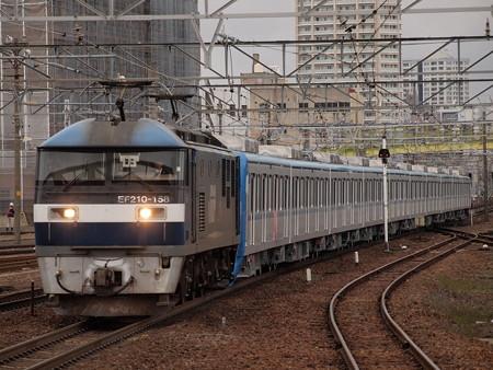 EF210 メトロ15000系甲種 東海道本線熱田駅01