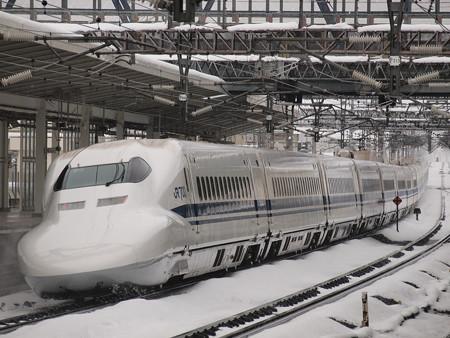 700系のぞみ  東海道新幹線米原駅02
