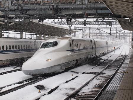 N700系のぞみ  東海道新幹線米原駅05