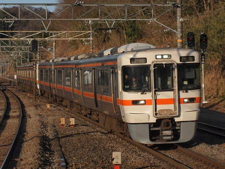 313系普通 東海道本線函南駅