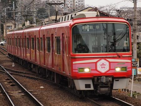 名鉄3700系普通 名鉄犬山線犬山遊園駅