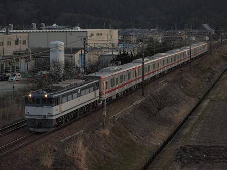 EF65 東武70000系甲種 東海道本線安土~能登川02