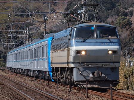 EF66 メトロ15000系甲種 三河三谷~三河大塚01
