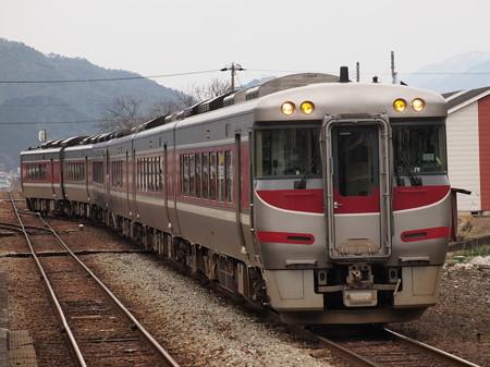 キハ189系特急はまかぜ播但線新井駅01