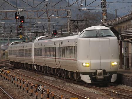 287系特急きのさき 山陰本線豊岡駅