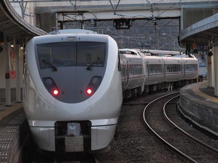 289系特急こうのとり 山陰本線城崎温泉駅