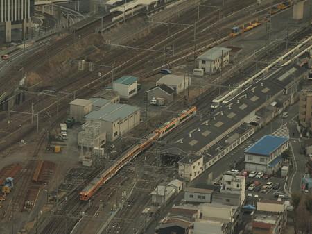 近鉄30000系特急 近鉄名古屋線名古屋~米野01