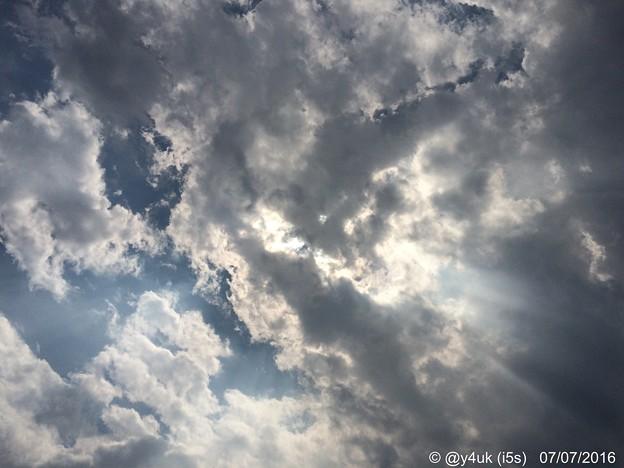 七夕の空 ~夜空は曇って出会えない
