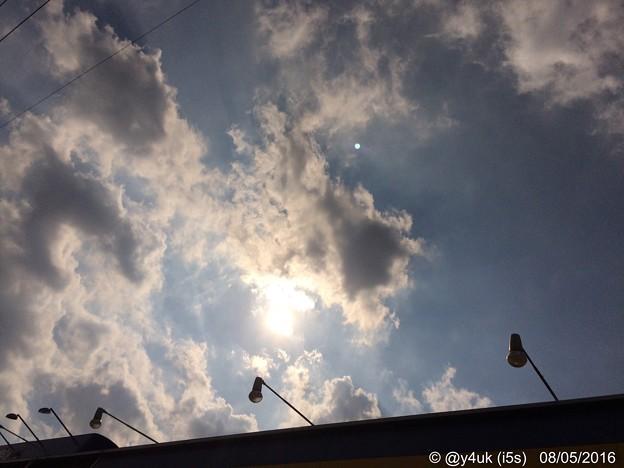 Photos: 太陽が燃えている ~ライトバックスマイル