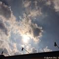 写真: 太陽が燃えている ~ライトバックスマイル