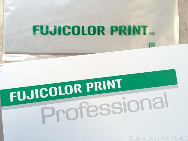 "FUJICOLOR PRINT ""Professional"" ~初プリント"