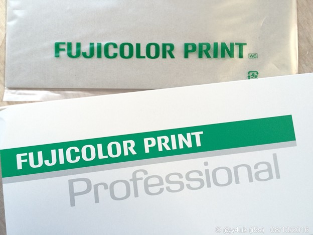"Photos: FUJICOLOR PRINT ""Professional"" ~初プリント"