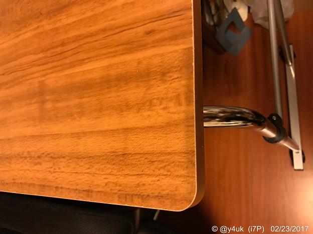 Photos: 高さ上げ・キャスター付・テーブル・木・念願~wood model背丈ある伸ばせる快楽♪