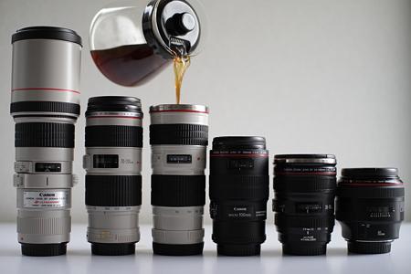 レンズ型マグカップ