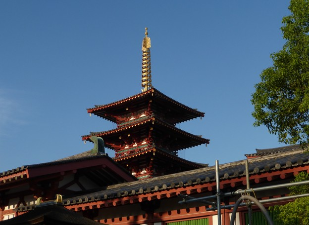 写真: 四天王寺