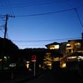写真: のぼり雲