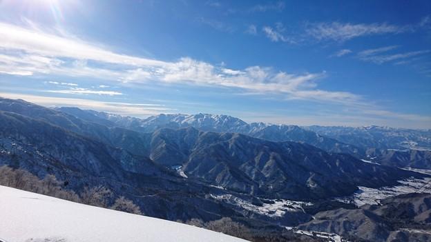 六日町八海山スキー場から