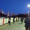 四ッ谷駅にて