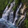 写真: しらひげの滝