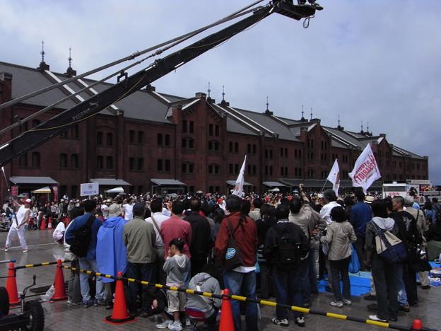 Photos: TVKTVのクレーンカメラ