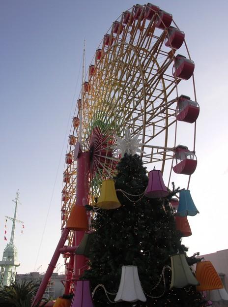 写真: モザイク観覧車:神戸散策51