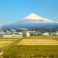 車窓富士山 2017-03-22