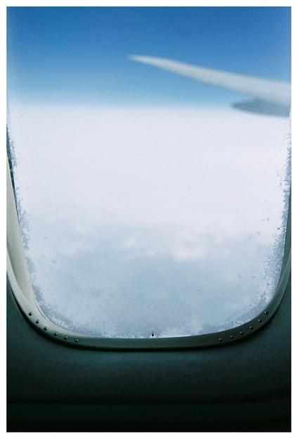 写真: 氷点下の世界。