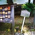 Photos: 上中里 平塚神社 絵馬と看板