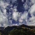 雲わく鳥甲山