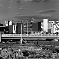 写真: 造成中の新宿副都心