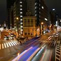 東京タワー見える三叉路