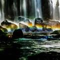 写真: 光と水の共演 其の弐