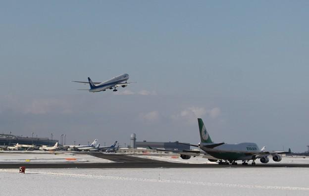 新千歳空港にて (1)
