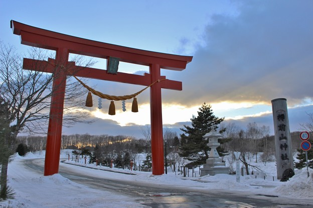 参拝 樽前山神社 (6)