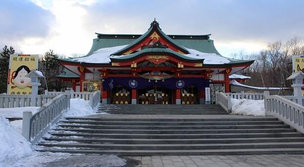 参拝 樽前山神社