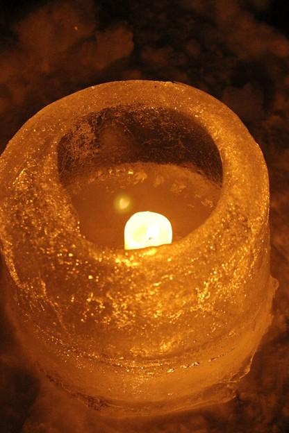 雪原に燈るランタン (2)