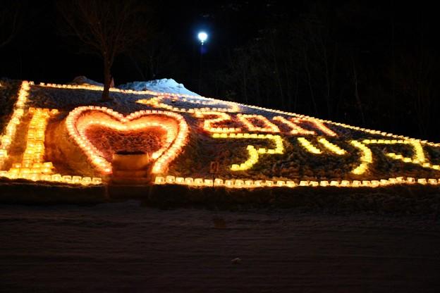 雪原に燈るランタン (3)