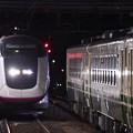 写真: 秋田新幹線開業20周年記念号,お帰り