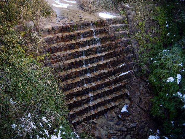 天神川 鎧堰堤