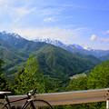写真: 小熊黒沢林道から見る景色