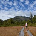 写真: 燧ヶ岳に向かって