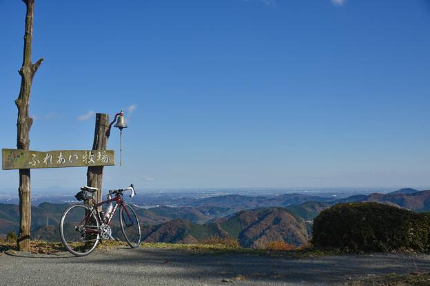写真: 高原牧場からの景色