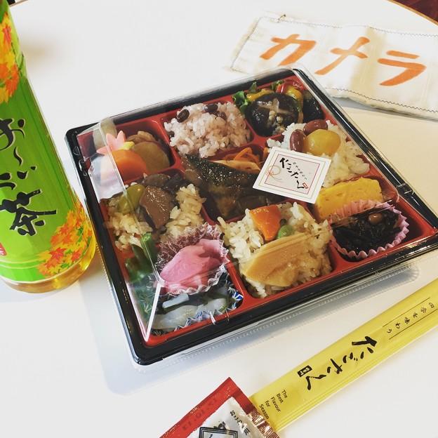 敬老の日の昼食