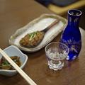 Photos: そば焼き味噌と八海山
